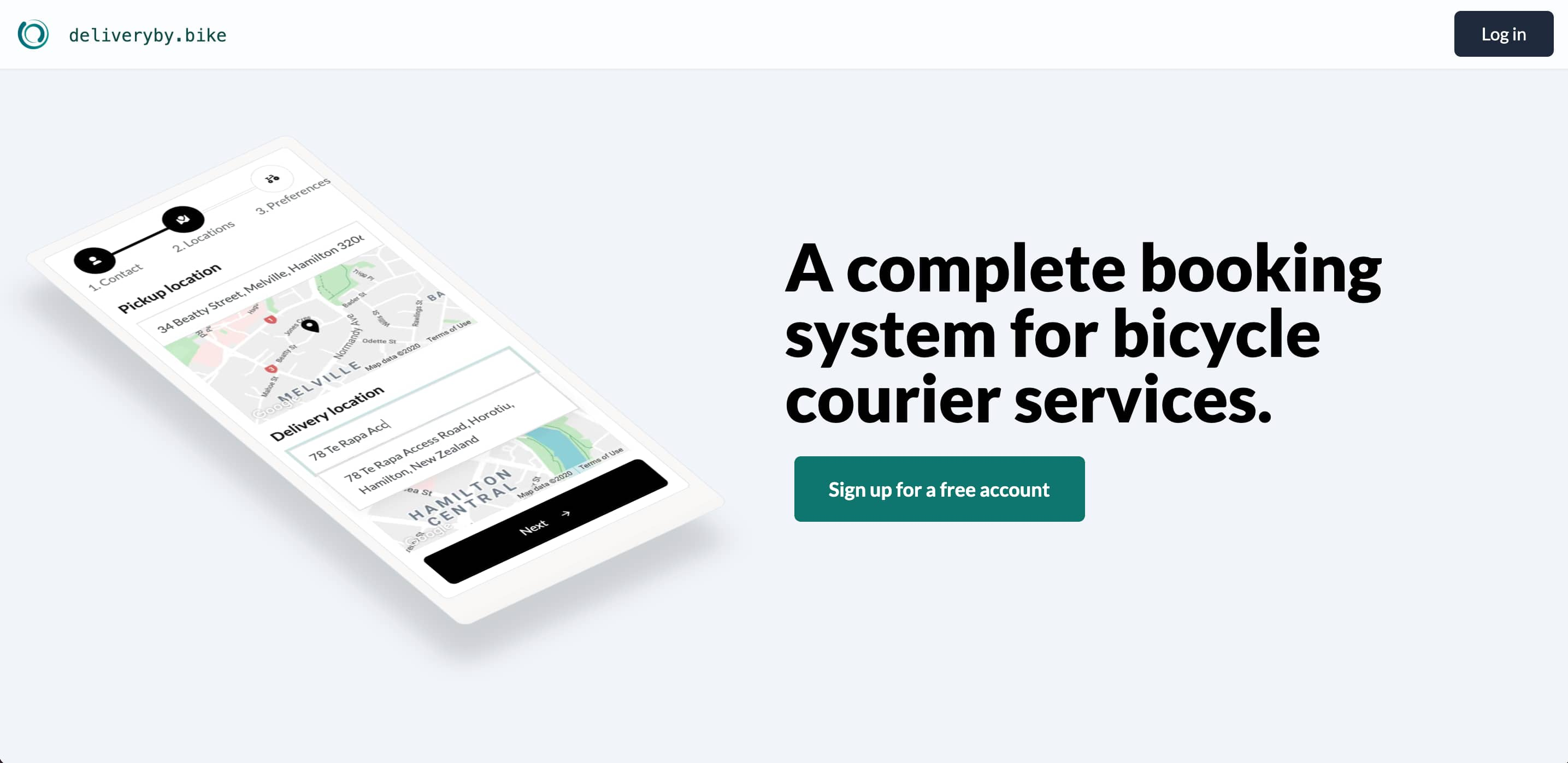Case study: Deliveryby.bike, an ordering system for bike couriers
