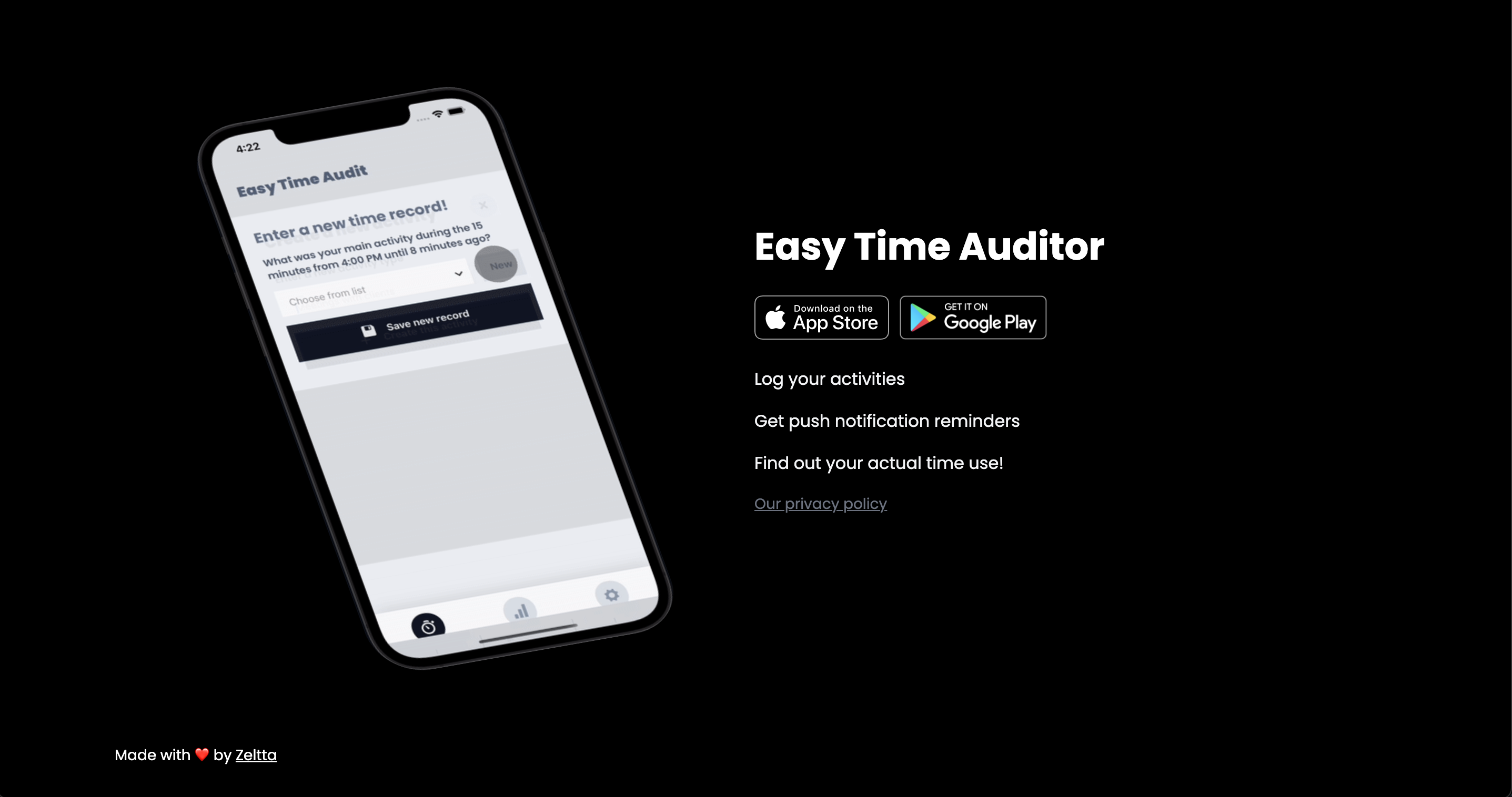 Case Study: Easy Time Auditor